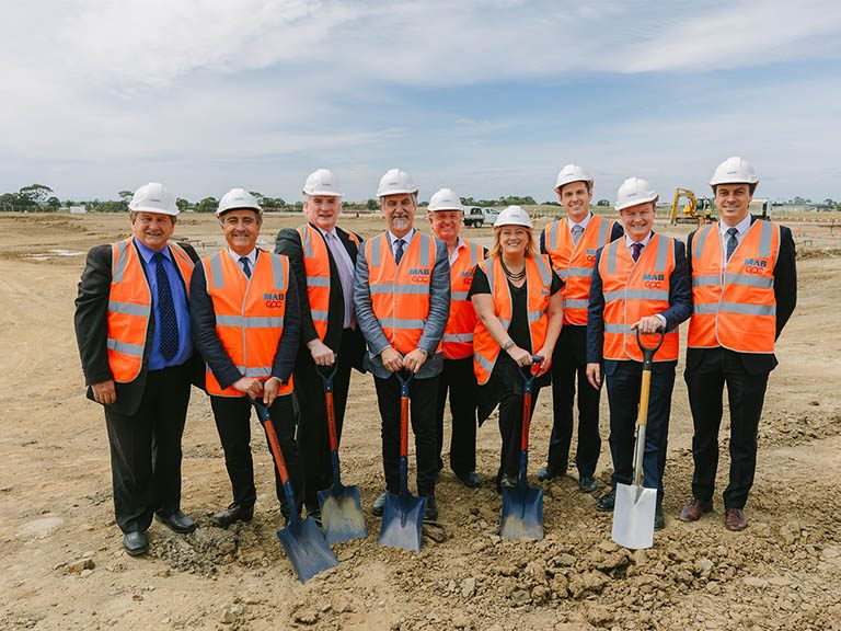 Up to 240 jobs set for Melbourne's north: MAB and GPC welcomes D'Orsogna to Merrifield Business Park